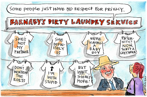 Cartoon by Fiona Katauskas