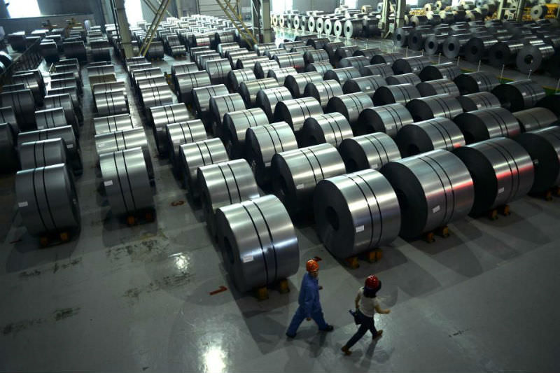 Rolled Chinese steel