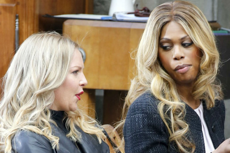 Lavern Cox (right) in Doubt