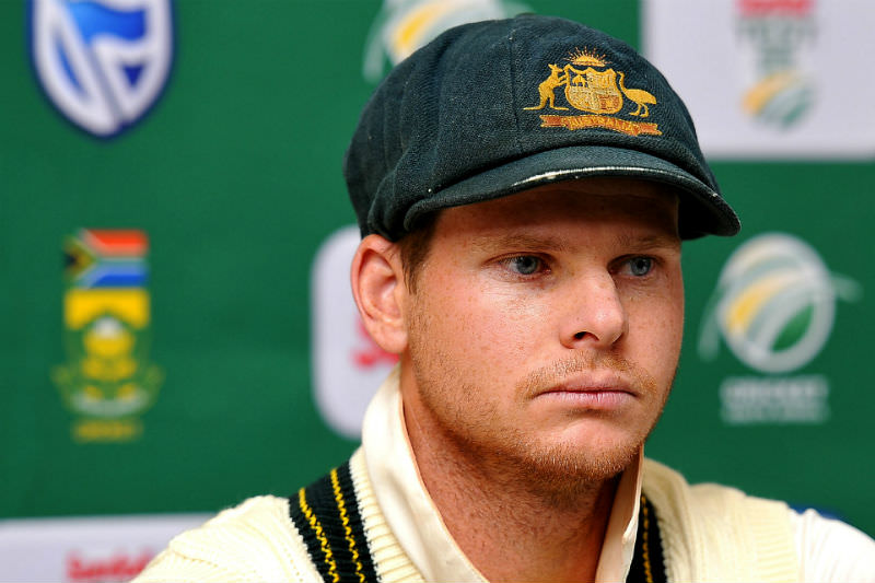 Australian Test cricket captain Steve Smith fronts the media following the ball tampering revelations.