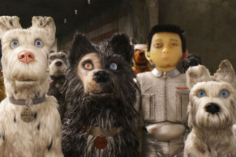Scene from Isle of Dogs