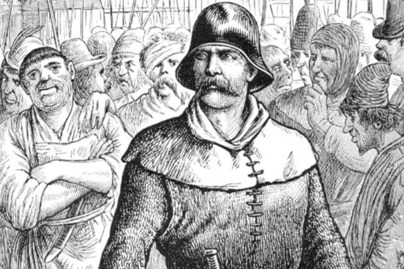 Illustration of Jack Cade
