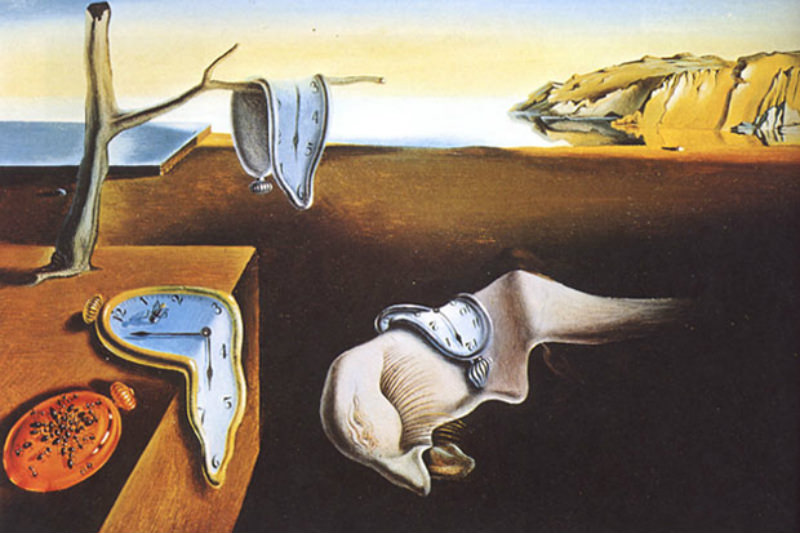 Salvador Dali's The Persistence of Memory