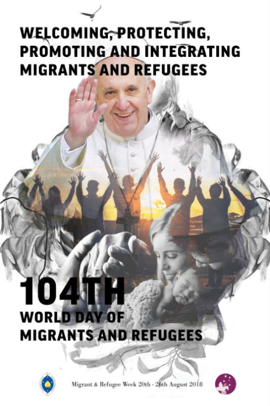 Migrant and Refugee Week poster