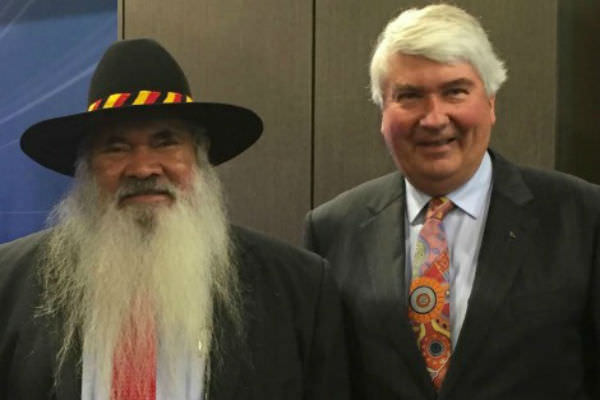 Pat Dodson and Frank Brennan
