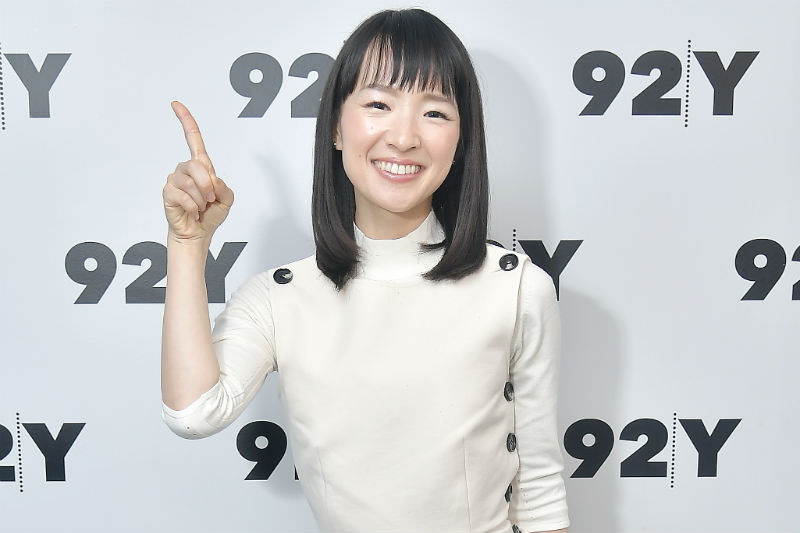 Author and series host Marie Kondo poses before taking part in Netflix's Tidying Up With Marie Kondo screening and conversation at 92nd Street Y on 8 January 2019 in New York City (Michael Loccisano/Getty Images)