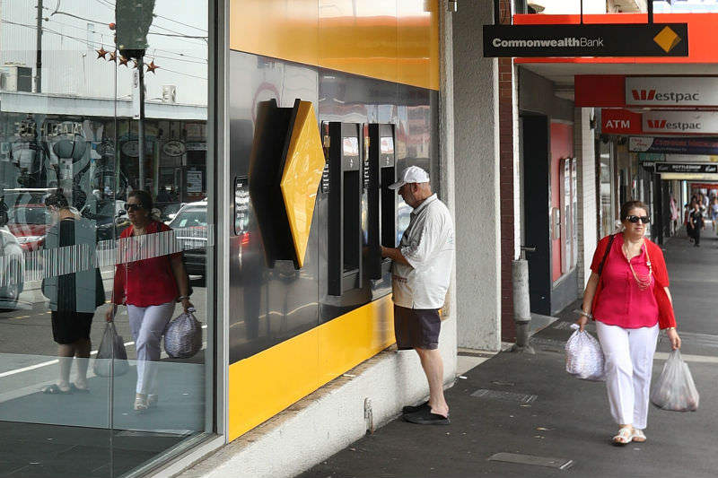 A general view of a Commonwealth Bank branch (Robert Cianflone/Getty Images)