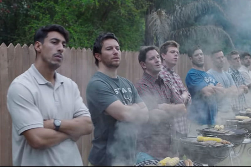 Scene from Gillette's Boys Will Be Boys ad