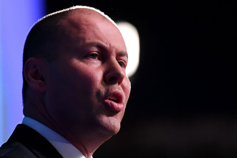 Treasurer Josh Frydenberg Delivers his budget address (photo by Tracey Nearmy/Getty Images)