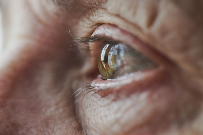 Close-up image of older woman's eye. (Rhys Hayward / Getty Creative)