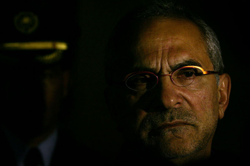 Jose Ramos Horta, his face half in shadow. (Lisa Maree Williams/Getty Images)