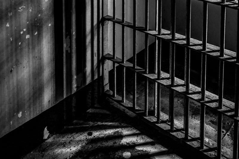 Prison cell image by DanHenson1 via Getty