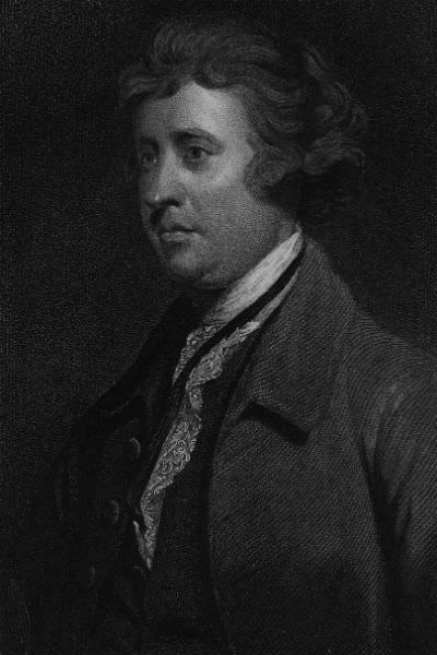 Irish philosopher and statesman Edmund Burke (1729 - 1797). Original Artwork: Engraving by Wagstaff after Joshua Reynolds. (Photo by Hulton Archive/Getty Images)