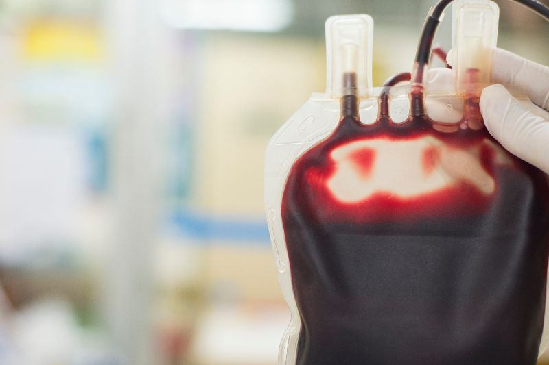 Close up of blood bag (Image credit: toeytoey2530 / Getty)