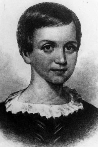 Emily Elizabeth Dickinson circa 1850. (Photo by Hulton Archive/Getty Images)