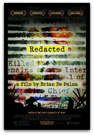 Redacted movie poster