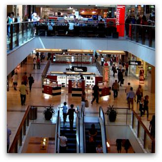 Westfield Bondi Junction Escalators, Flickr image by betta design