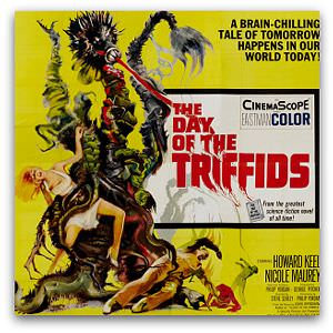 'Day of the Triffids' - movie poster