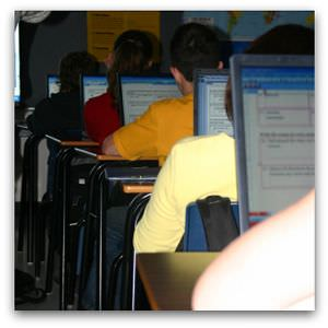 Classroom laptops - Flickr image by Whip62
