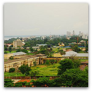 'Kinshasa from 15th floor' Flickr image by Irene2005