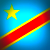 Congo flag cropped 50 by 50