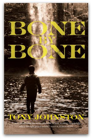 Bone by Bone, by Tony Johnston, cover image