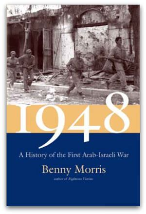 1948: A History of the First Arab-Israeli War, by Benny Morris, cover image