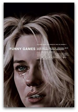 Funny Games movie poster, Naomi Watts