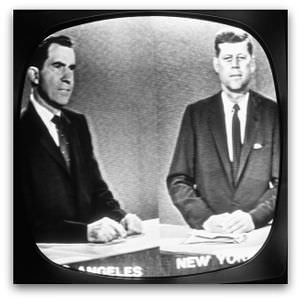 Nixon and Kennedy, televised debate