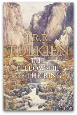 Lord of the Rings: The Fellowship of the Ring, book cover