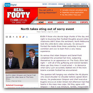 North takes sting out of sorry event