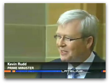 Kevin Rudd, Lateline