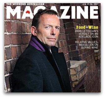 Tony Abbott The Weekend Australian Magazine