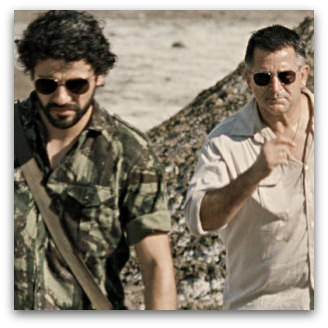 Balibo, Anthony LaPaglia and Oscar Isaac, as Roger East and Jose Ramos Horta