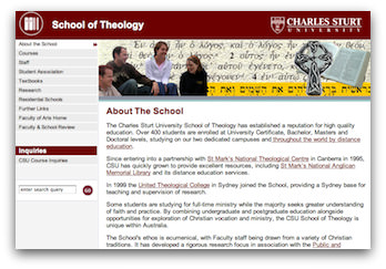 CSU School of Theology