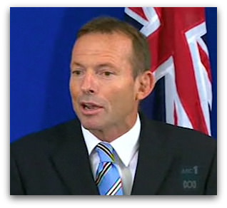 'Abbott Media Conference', Nine News