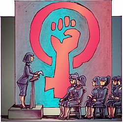 'Feminism' by Chris Johnston