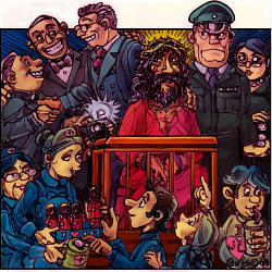 'Jesus on trial' by Chris Johnston