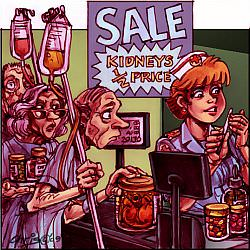 'Patient customers' by Chris Johnston