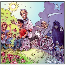 'Euthanasing the Disabled' by Chris Johnston