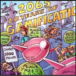 'Gamified World' by Chris Johnston
