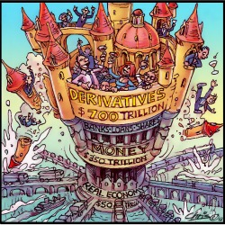 'Upside Down World Of Global Capital' by Chris Johnston
