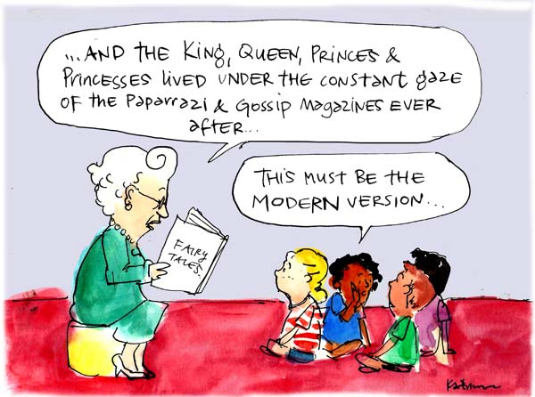 'It's not easy being Queen', by Fiona Katauskas