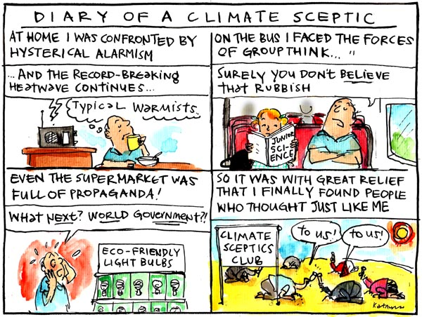 'Diary of a climate sceptic' by Fiona Katauskas