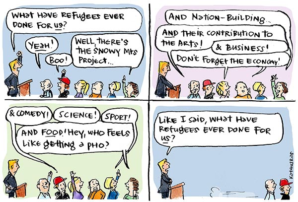 australian refugee essay There is a difference between an asylum seeker and a refugee—asylum seekers are people seeking international protection  australian government assistance to.