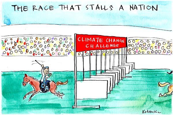 Tony Abbott is going in the wrong direction in the the Climate Change Challenge